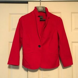 The Limited Casual Blazer Red Size Small